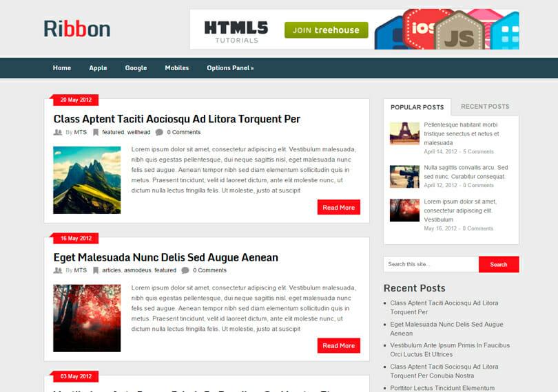 ribbon-template-gratis