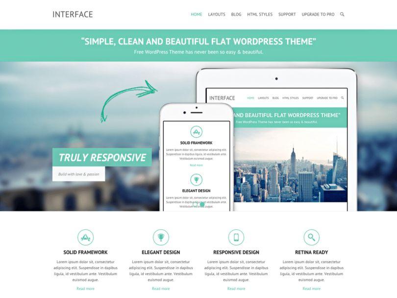 wordpress-interface-tema