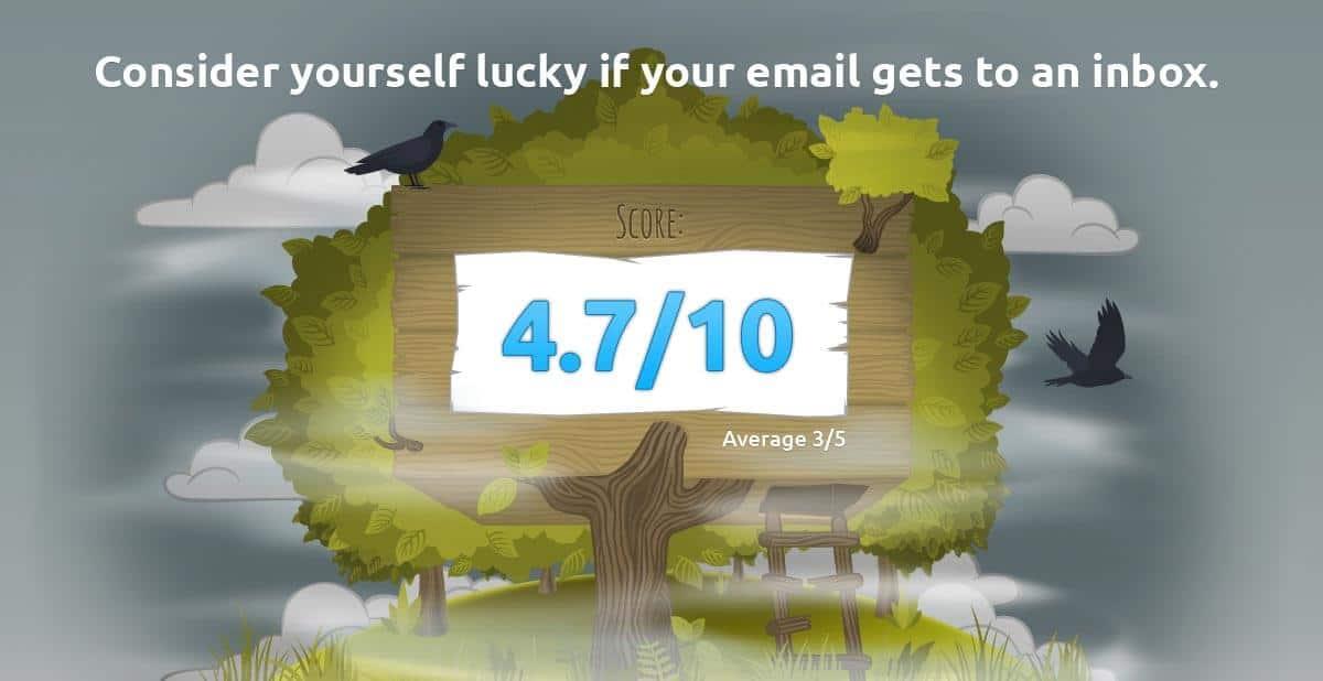 Dificil seu email chegar lá..